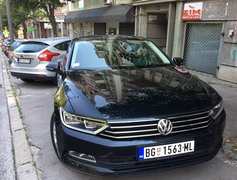 CAR RENTAL: Belgrade